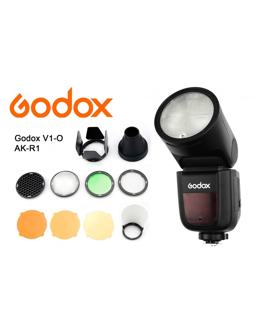 Kit Godox V1 Olympus y modificadores